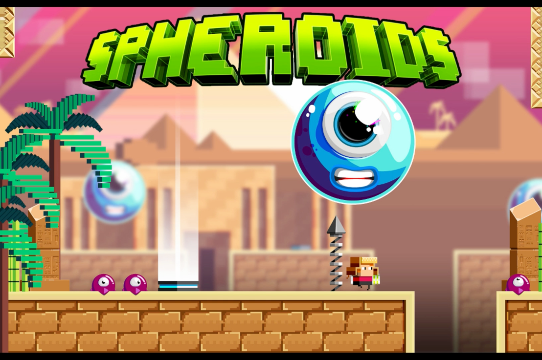 Spheroids Wii U Review